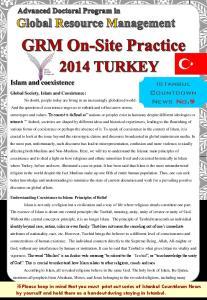 Istanbul Countdown News No.9
