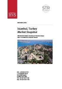 Istanbul, Turkey Market Snapshot