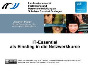 IT-Essential als Einstieg in die Netzwerkkurse
