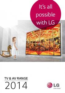 It s all possible with LG