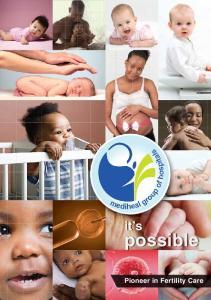 it s possible Pioneer in Fertility Care