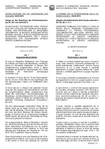 ITALIANO. Art. 1 Art. 1 Ausgeschriebene Stellen