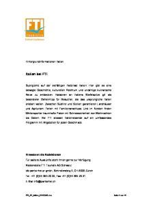 Italien bei FTI. Hintergrundinformationen Italien