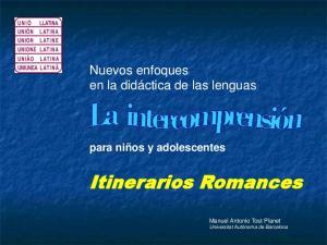 Itinerarios Romances