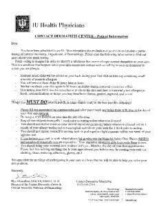IU Health Physicians. Ambulatory Registration
