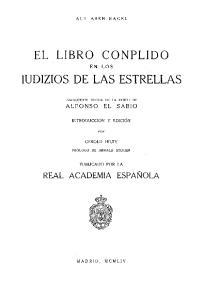 IUDIZIOS DE LAS ESTRELLAS