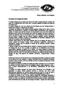 IV Congreso Internacional VI Congreso Latinoamericano y VII Congreso Nacional de Salud Mental y Sordera