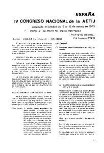 IV CONGRESO NACIONAL de la AETIJ