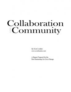 ivic collaboration is a process of shared decision-making in which the all the parties with a stake in a problem constructively explore their