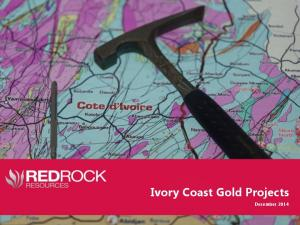 Ivory Coast Gold Projects