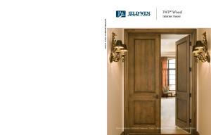 IWP Wood. Interior Doors. Estate Collection Craftsman Collection Classic Collection Contemporary Collection French Doors CUSTOM WOOD INTERIOR DOORS