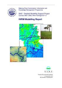 IWRM Modelling Report