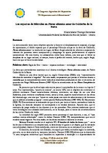 IX Congreso Argentino de Hispanistas El Hispanismo ante el Bicentenario