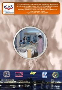 IX CONGRESO ECUATORIANO DE MEDICINA INTENSIVA II CURSO INTERNACIONAL DE ENFERMERÍA INTENSIVA II JORNADAS INTERNACIONALES DE TERAPIA RESPIRATORIA EN