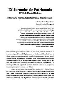 IX Jornadas de Patrimonio CFIE de Ciudad Rodrigo