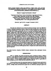 J. ISSAAS Vol. 18, No. 2:83-95 (2012)