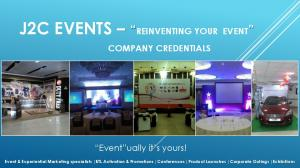 J2C EVENTS REINVENTING YOUR EVENT