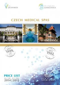 JÁCHYMOV THE WORLD MEDICAL SPA SURROUNDED BY THE ORE MOUNTAINS