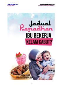 Jadual Ramadan Ibu Bekerja 2015 Maximise Your Potential untuk Kaya!
