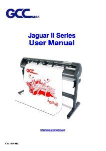 Jaguar II Series User Manual
