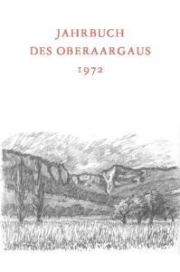 JAHRBUCH DES OBERAARGAUS 1972