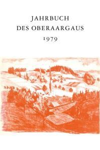 JAHRBUCH DES OBERAARGAUS 1979