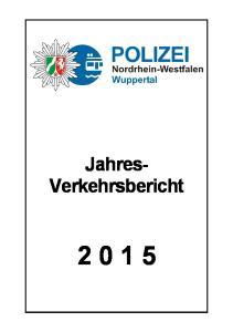 Jahres- Verkehrsbericht