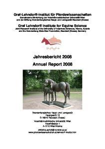 Jahresbericht 2008 Annual Report 2008