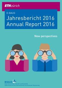 Jahresbericht 2016 Annual Report 2016