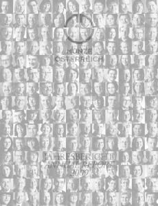 JAHRESBERICHT ANNUAL REPORT 2009