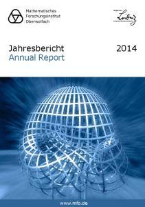 Jahresbericht Annual Report