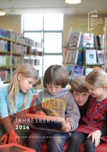 Jahresbericht berliner öffentliche Bibliotheken