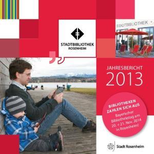 Jahresbericht. Bibliotheken. in Rosenheim!