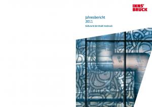 Jahresbericht Kulturamt der Stadt Innsbruck