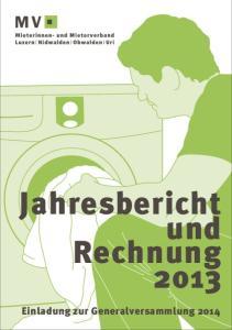 Jahresbericht und Rechnung 2013