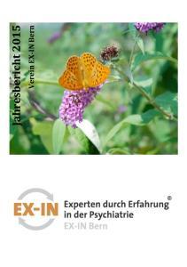 Jahresbericht Verein EX-IN Bern