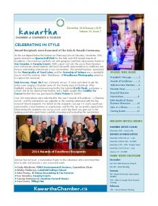 January 2015 Volume 14, Issue 7