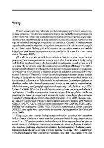 Janusz Jaworski Poziom rozwoju somatycznego i funkcjonalnego populacji dzieci