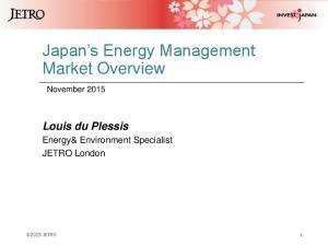 Japan s Energy Management Market Overview