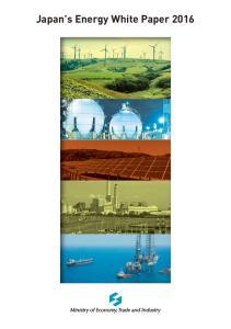 Japan s Energy White Paper 2016