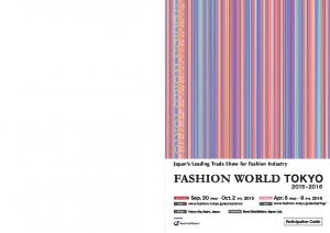 Japan s Leading Trade Show for Fashion Industry FASHION WORLD SPRING AUTUMN