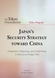 JAPAN S SECURITY STRATEGY