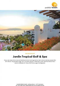 Jardin Tropical Golf & Spa