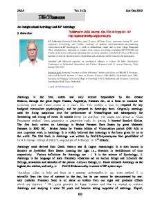 JASA Vol. 3 (2) Oct-Dec 2013
