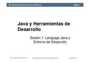 Java y Herramientas de Desarrollo