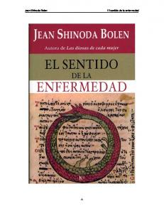 Jean Shinoda Bolen El sentido de la enfermedad -1-