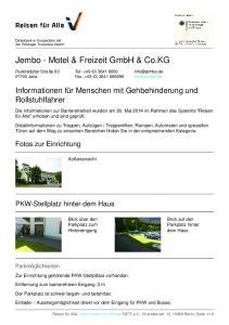 Jembo - Motel & Freizeit GmbH & Co.KG