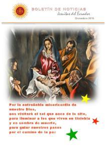 Jesuitas del Ecuador Diciembre 2015
