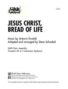 JESUS CHRIST, BREAD OF LIFE