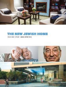 JEWISH HOME LIFECARE ANNUAL REPORT 2013